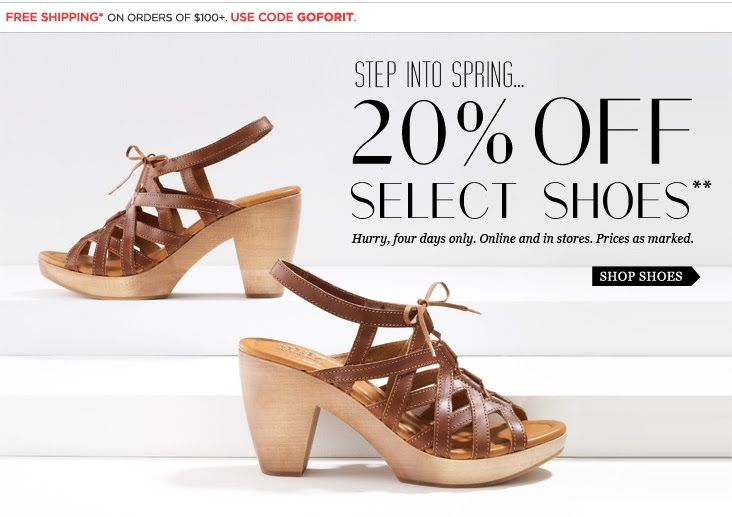 Online Shoes Promo Code May