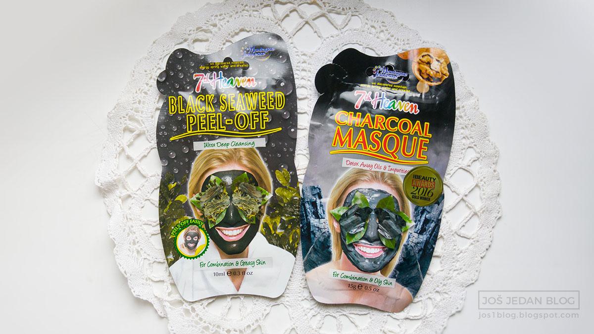 7th Heaven maske, recenzija i utisci, crna morska trava peel off, aktivni ugalj
