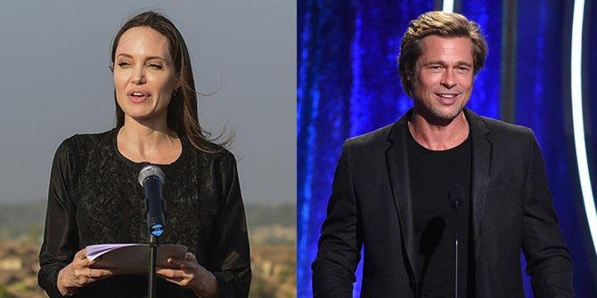 Brad Pitt Kesal Dengan Angelina Jolie, Urusan Perceraian Mereka Belum Kelar