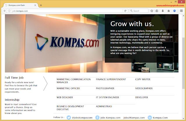 Lowongan Kerja di Kompas.com dan Tips Melamar Pekerjaan di Kompas.com
