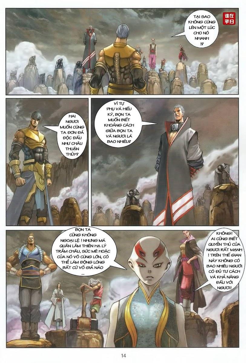 Ôn Thụy An Quần Hiệp Truyện chap 45 trang 14
