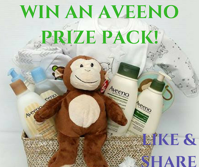 WIN an Aveeno Prize Pack For Mom & Baby!