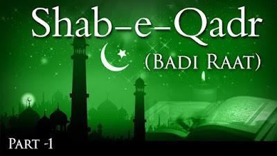 Shab E Qadr Mubarak