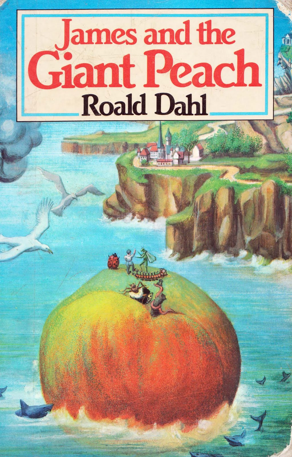 Vintage Kids Books My Kid Loves James And The Giant Peach