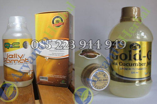 Perbedaan QnC Jelly Gamat Dengan Jelly Gamat Gold G