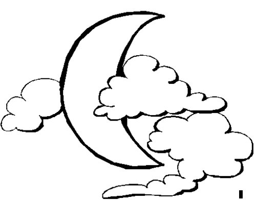Moon Coloring Pages For Kids >> Disney Coloring Pages