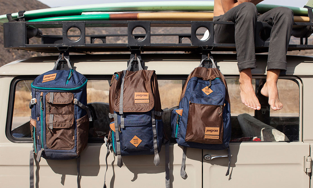 41c618bcf92 JanSport s recent collaboration with surf-and-stone lifestyle apparel  company HippyTree is a match made in heaven for any adventure enthusiast out  there.