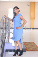 Telugu Actress Mounika UHD Stills in Blue Short Dress at Tik Tak Telugu Movie Audio Launch .COM 0287.JPG
