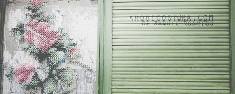 Arquicostura, escaparatismo en punto de cruz