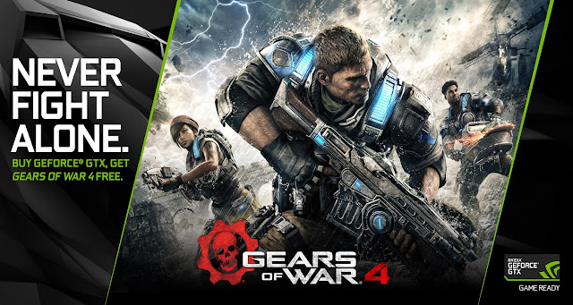 Nvidia Corporation canceled the work of Key's download for Gears Of War 4
