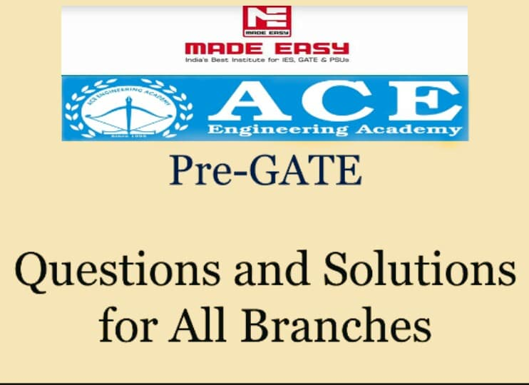 Download Gate 2019 Made Easy CBT, Pre Gate Ace Academy, Ies