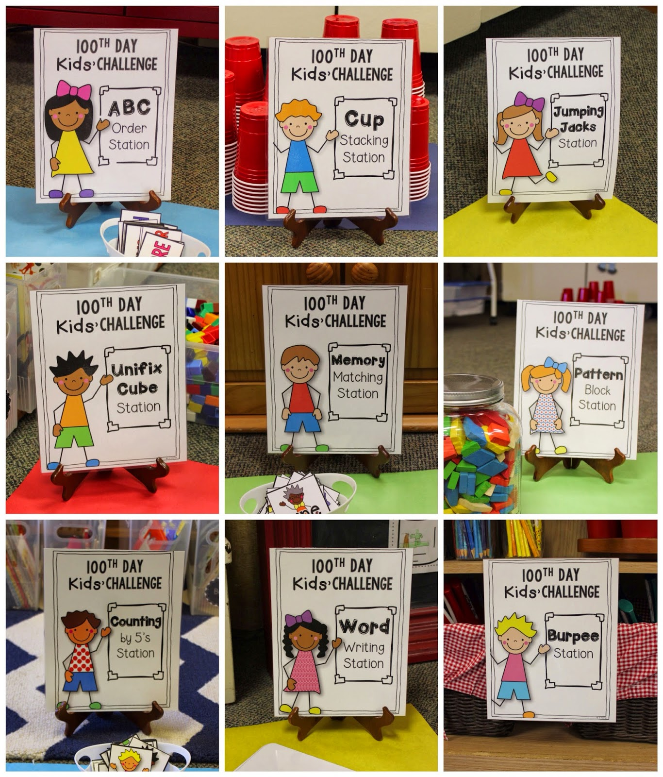 School Is A Happy Place: Let's Celebrate The 100th Day