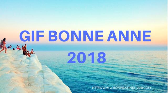 Gif animés bonne année 2018