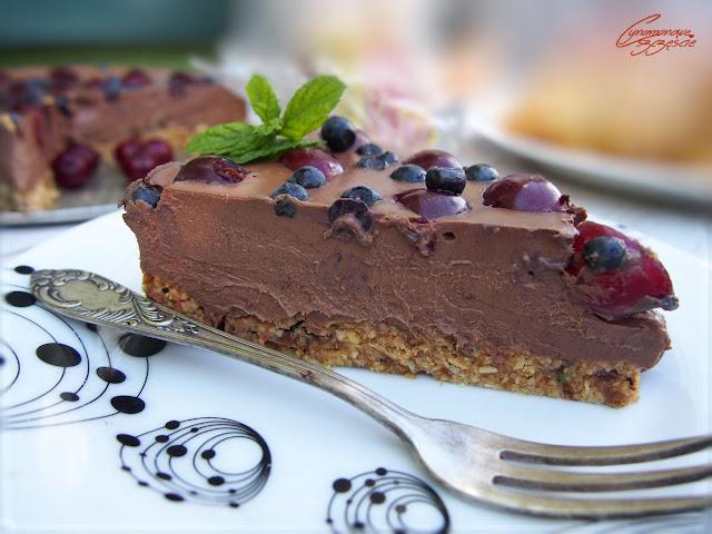 czekoladowy torcik