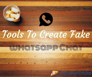 Create fake whatsapp chat