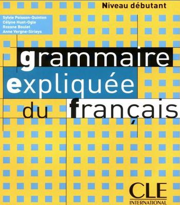 Livre Grammaire Expliquee Du Francais En Format Pdf