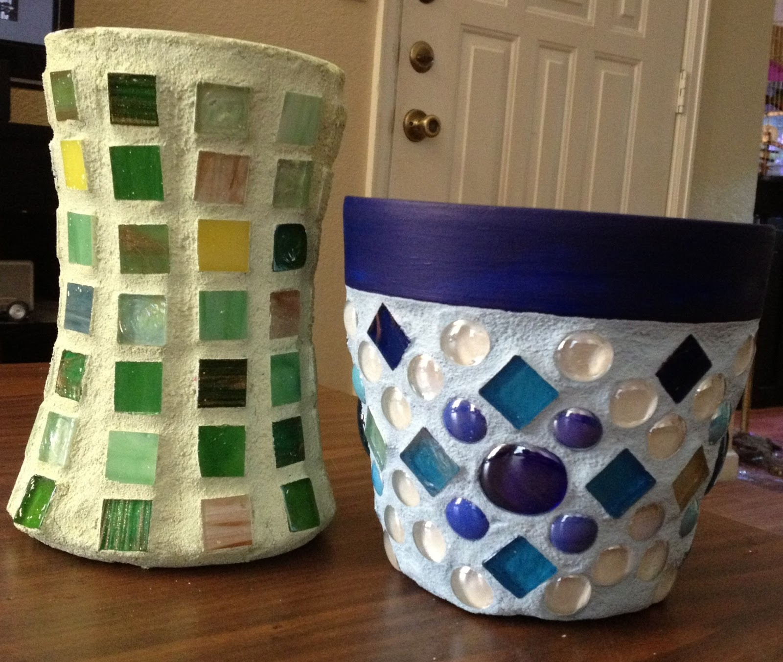 Diy Horticultural Projects And Crafts Mosaic Flower Pots