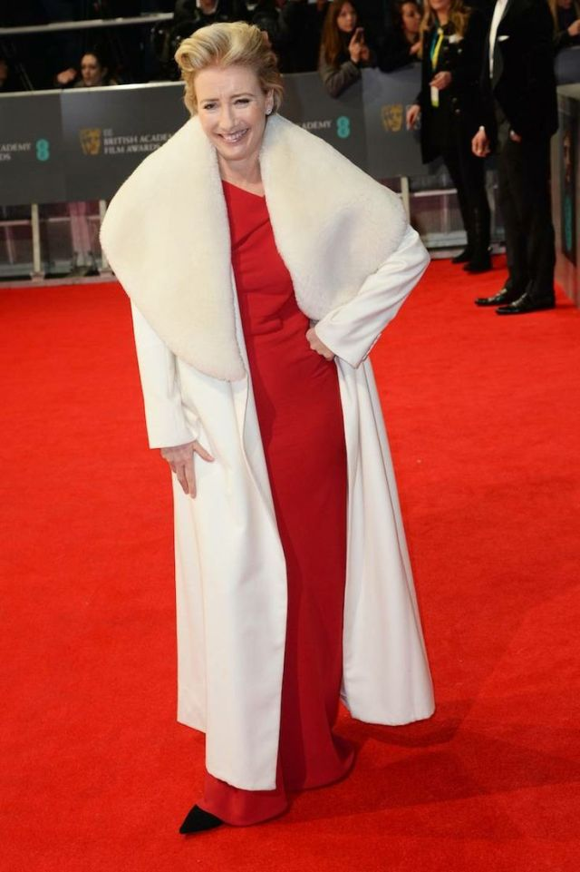 Emma Thompson in Maria Grachvogel at the BAFTA 2014