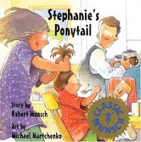 bookcover of STEPHANIE'S PONYTAIL by Robert Munsch