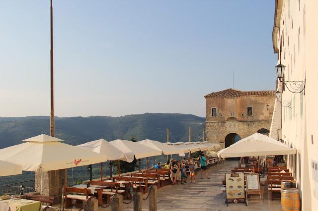 Motovun istria Croatia Restaurant