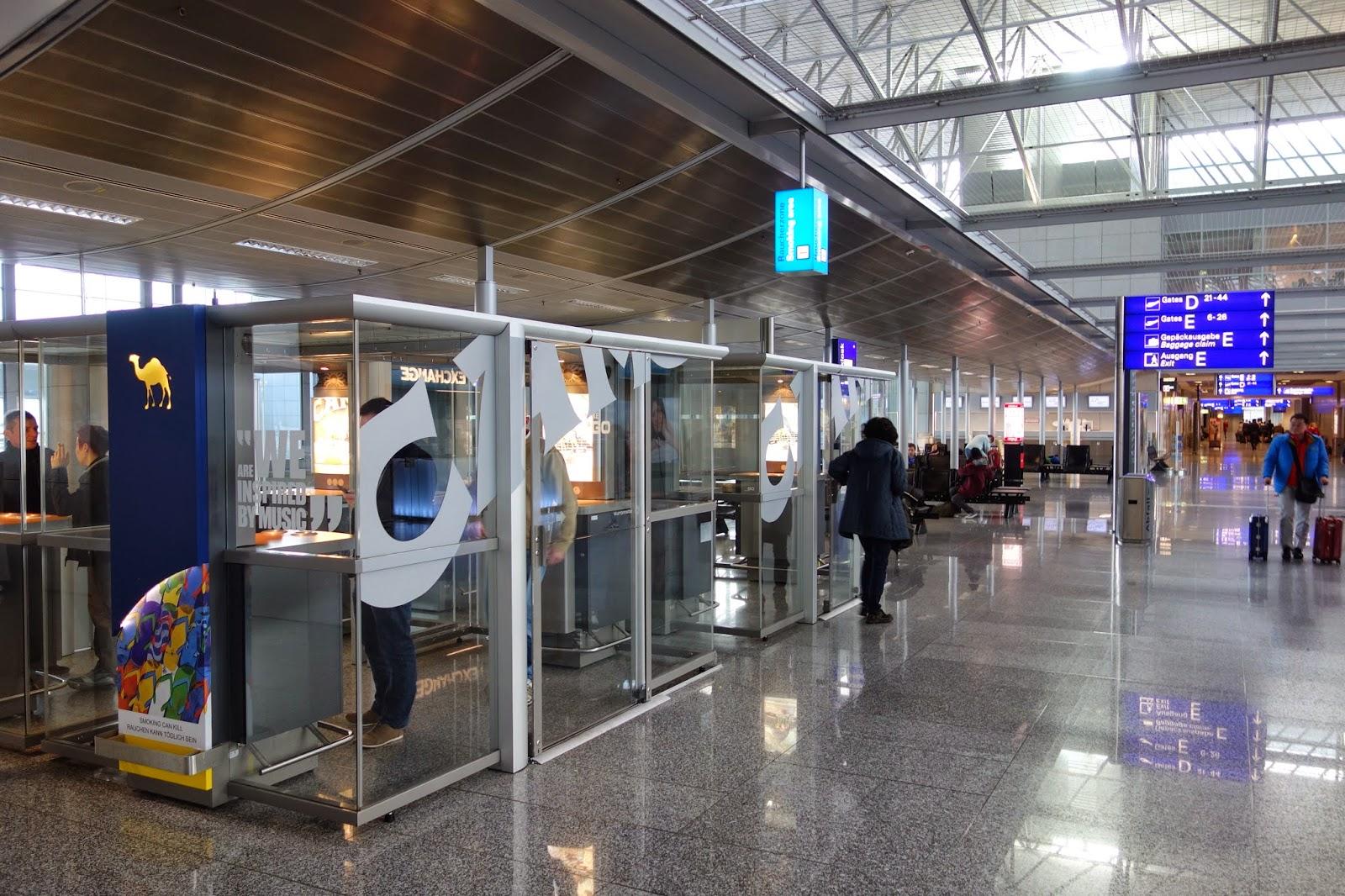 Terminal  Smoking Room