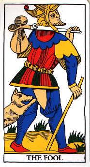Significado da carta do Louco no tarot