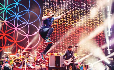 Coldplay live in Manila, Philippines - April 2017