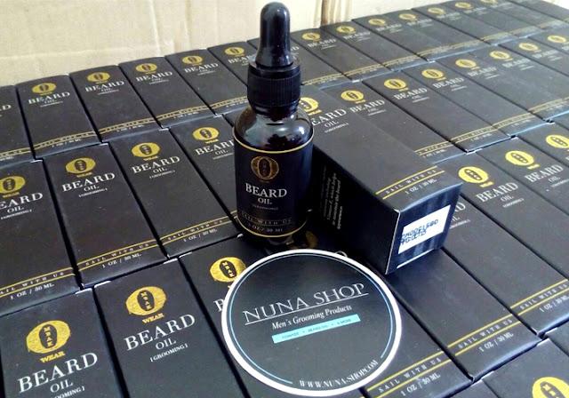 Ombak Beard Oil Penumbuh Kumis, Bulu, Jenggot, Jambang & Rambut