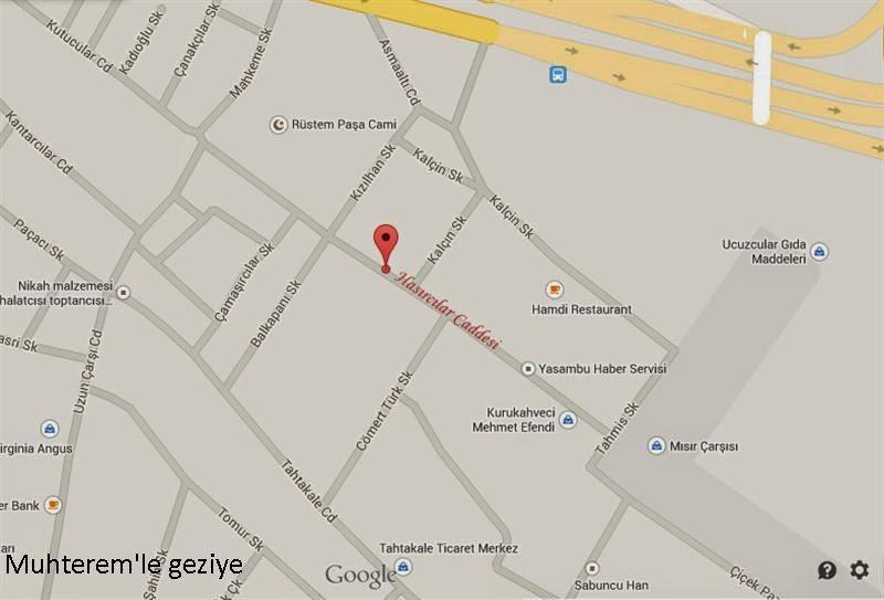 Hasırcılar Caddesi maps