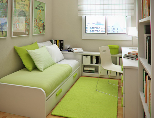 """5 ý tưởng thông minh """"hô biến"""" phòng ngủ nhỏ hẹp trở nên rộng rãi"""