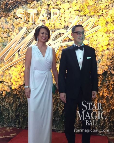ABS-CBN's CEO Mr. Carlo Katigbak attends the #StarMagicBall