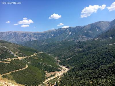 Le château de Borsh sur la riviera albanaise