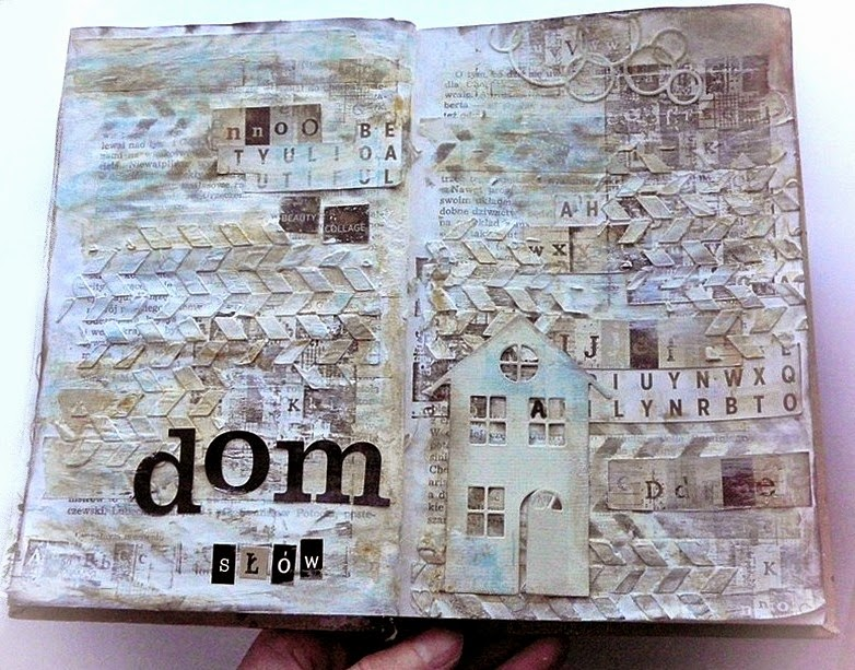 art journal domek