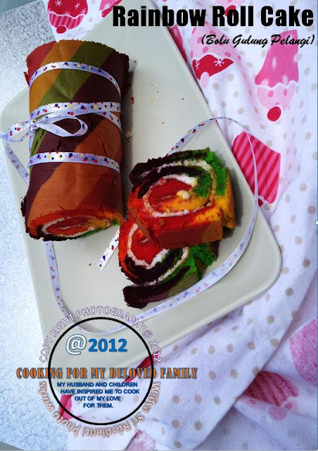 Widya Sri Rusdianti S Kitchen Rainbow Roll Cake Bolu