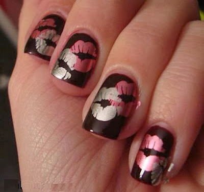 15 Valentine Nail Designs ! ~ Nail and Beauty Ideas