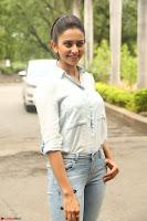 Rakul Preet Singh in Jeans and White Shirt At Jaya Janaki Nayaka le Logo Launch ~  Exclusive 033.JPG