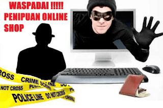 melapor ke pihak yang berwajib Penipu online yang sedang marak terjadi, dimana banyak orang bertranssaksi menggunakan via transfer