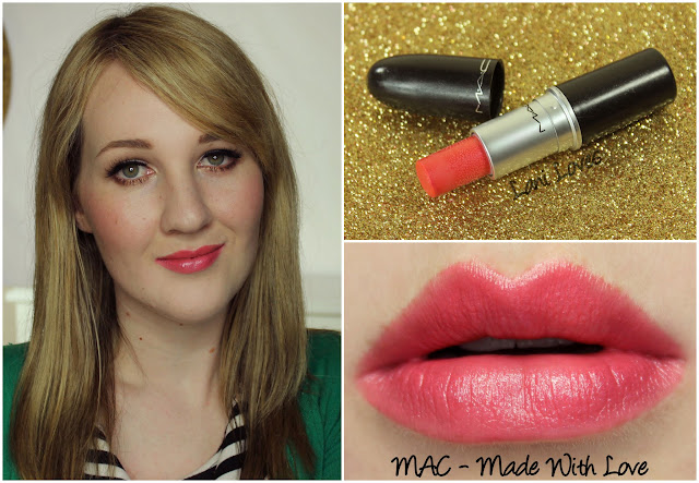 MAC Made With Love lipstick swatch