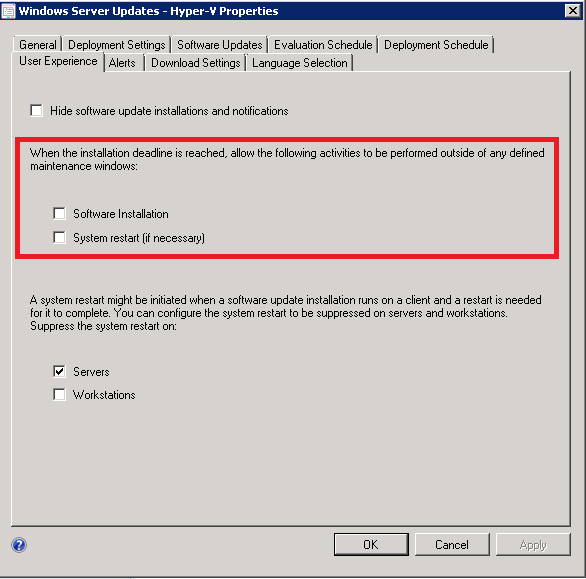 Sccm 2012 Task Sequence Install Software Updates Hangs