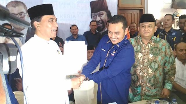Nasdem, PPP dan PKPI Usung Tarmizi Karim Calon Gubernur Aceh