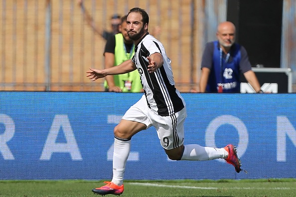 Arsenal made offer for Gonzalo Higuain, Napoli president says