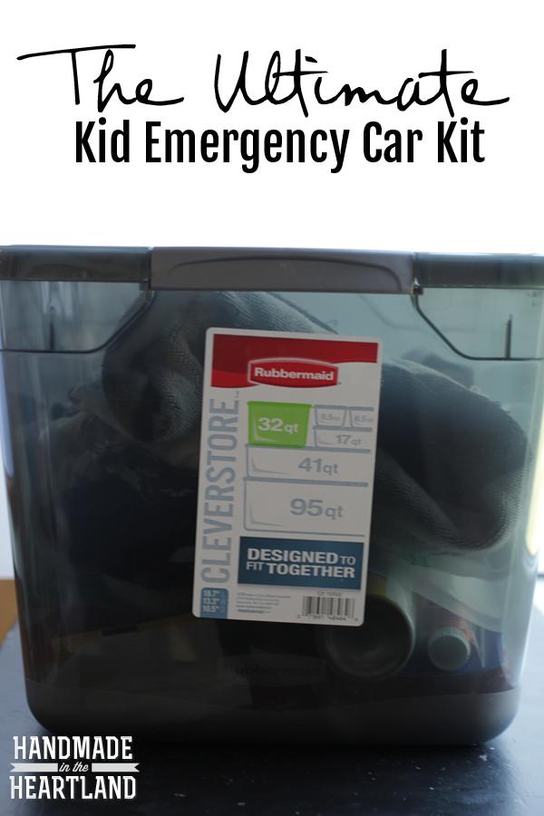 the Ultimate Kid Emergency Car Kit