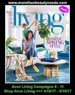 Shop Avon Living Campaigns 8 - 11. 3/18/17 - 5/12/17