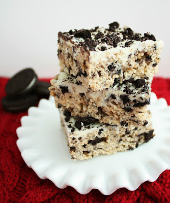 Cookies and Cream Rice Crispies