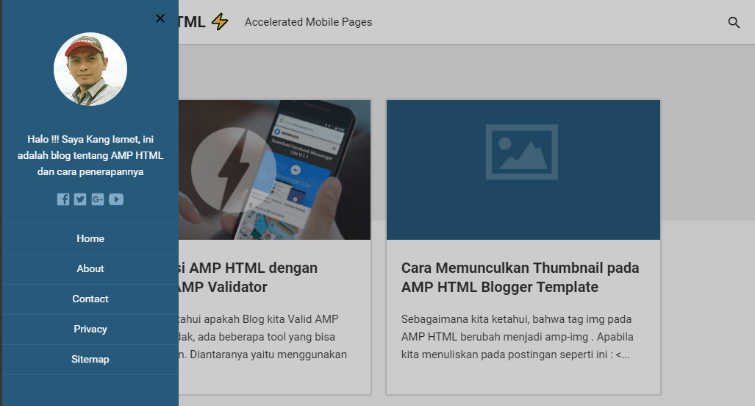 Top 5 best AMP blogger templates for faster page speed | Blogdevpro ...