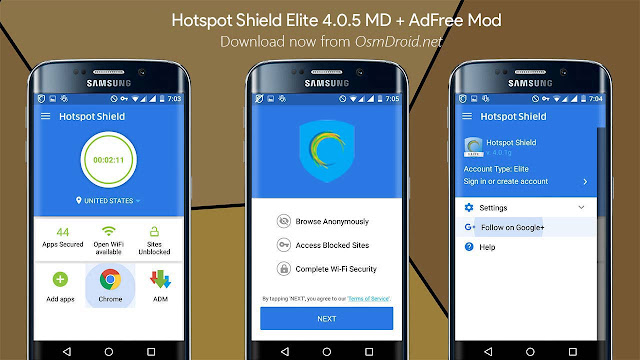 Hotspot Shield Elite APK Free Download