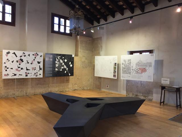 La Lonja acoge la exposición de los tres proyectos elegidos para el nuevo entorno de la Plaza de Brujas