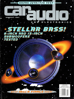 image in color of Car Audio and Electronics March 1997 Cover