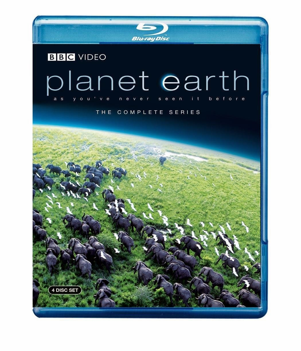 Planet Earth TV series, used as part of ocean theme week preschool