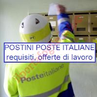 requisiti postini e offerte di lavoro poste italiane